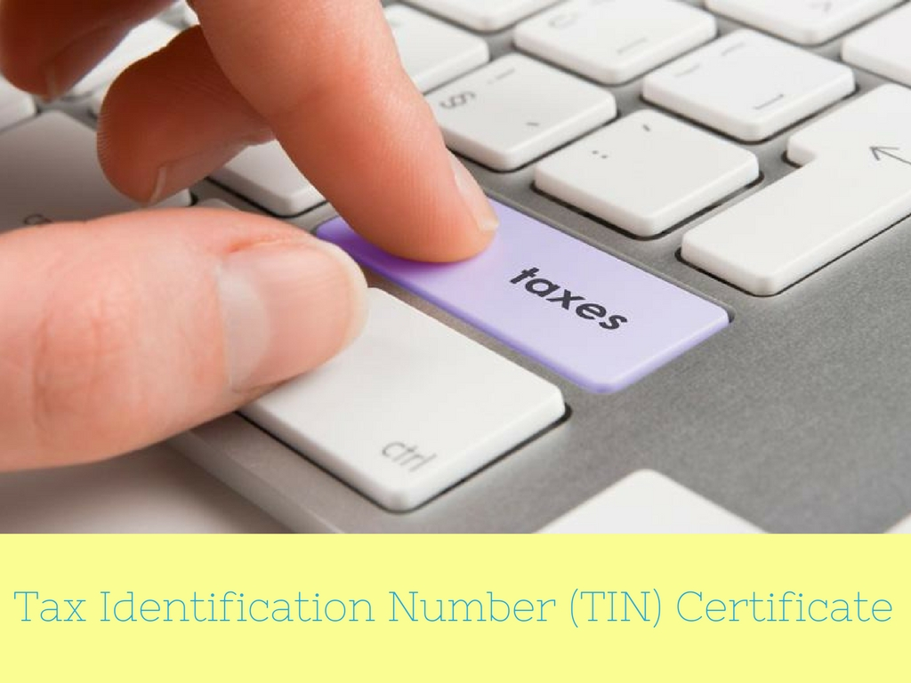 TIN Certificate