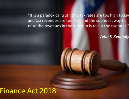 Salient Features of Finance Act 2018 Im