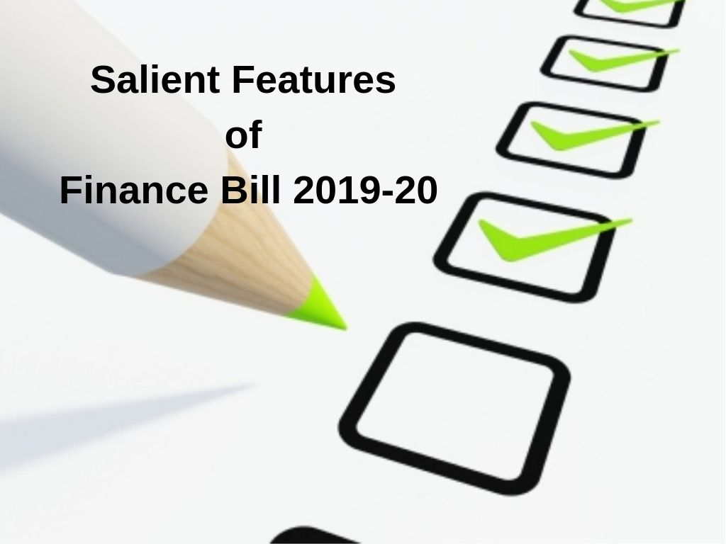 Salient Features of Income Tax