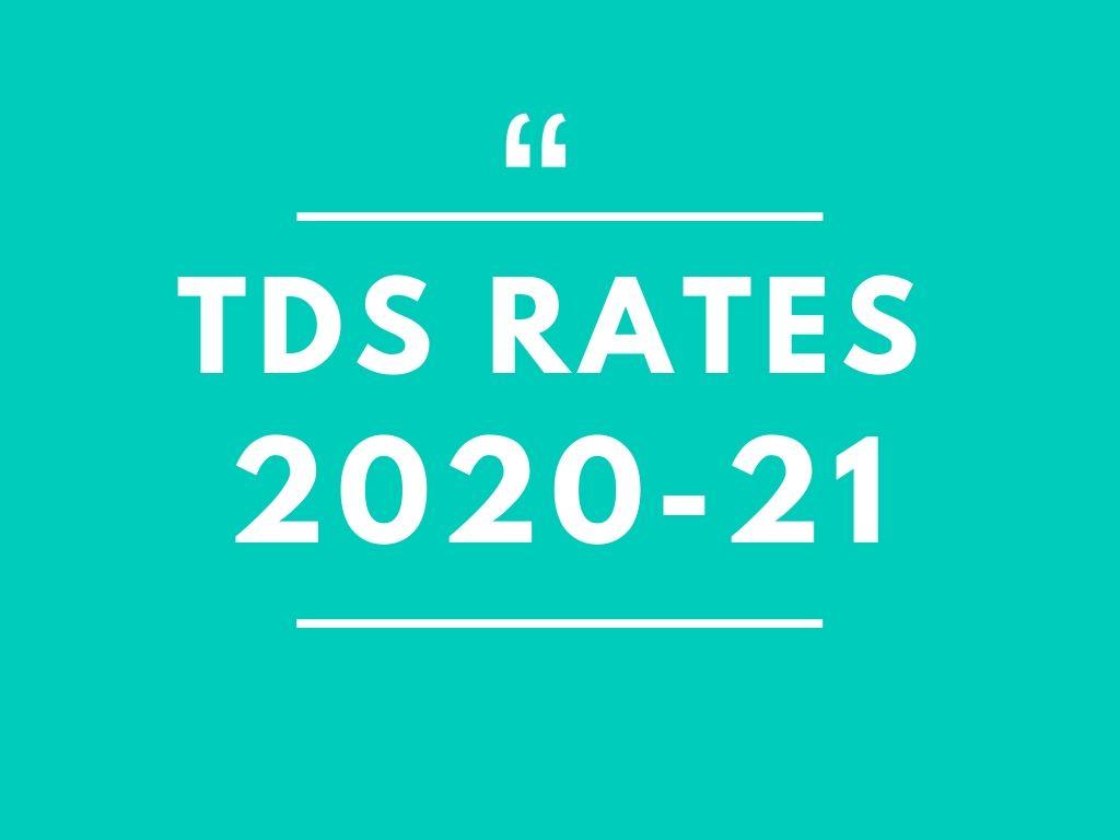 BD TDS Rates 2020-21