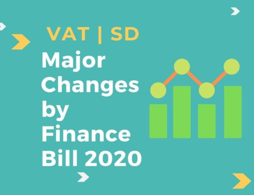 VAT and SD Changes 2020