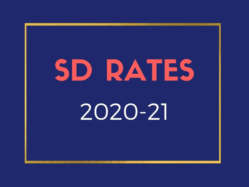 SD Rates 2020