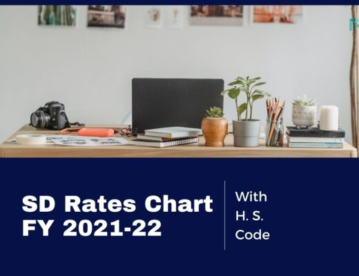 SD Rates FY 2021-22